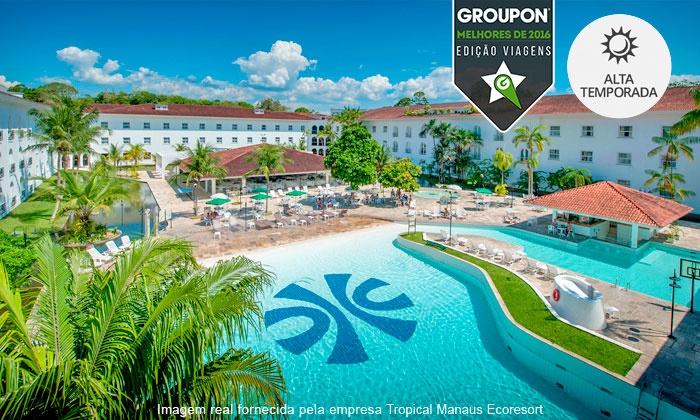 Tropical Manaus Ecoresort - Manaus: #MelhoresDe2016 – Manaus: até 10 noites para 2 pessoas no Tropical Manaus Ecoresort