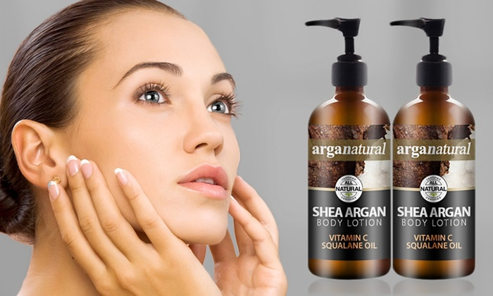 Arganatural Shea-Argan Body Lotion: One or Two 8 Oz. Bottles of Arganatural Shea-Argan Body Lotion (Up to 74% Off)