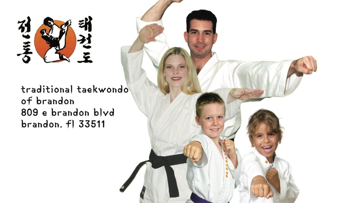 Traditional Taekwondo of Brandon - Brandon: One Month of Martial Arts Classes at Traditional Taekwondo of Brandon (55% Off)