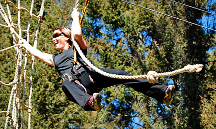 WildPlay Element Parks - Kelowna: $30 for $60 Worth of Outdoor Aerial Adventures at WildPlay