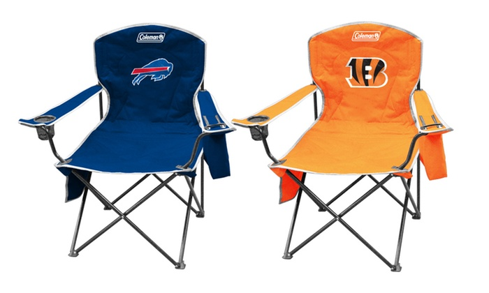 2-Pack of NFL Cooler Quad Chairs: $54.99 for 2-Pack of NFL Cooler Quad Chairs ($78 List Price). Multiple Teams Available. Free Shipping and Returns.
