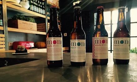 Visita guiada a la fábrica con cata y maridaje para 2, 4 o 6 con opción a pack de cervezas desde 9,95 € en Cervezas Mond