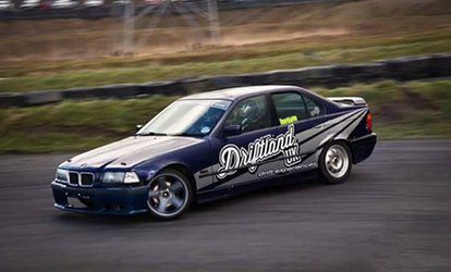 image for Drift Taxi Experience or Bronze or Silver Driving Experience from DriftLandUK (Up to 70% Off)