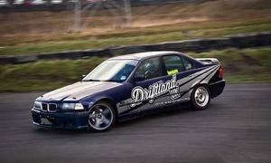 DriftlandUK Ltd: Passenger or Driver Car Drifting Experience at DriftLandUK (Up to 79% Off)