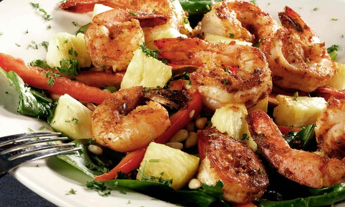 Seaside Grill - Lighthouse Cove Condo: $22 for $40 Worth of Seafood and Drinks, Sunday Through Thursday. at Seaside Grill