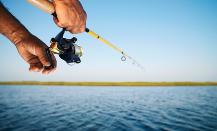 Half-Day or Evening Fishing Trip for One, Two, or Four from Angler (Up to 56% Off)