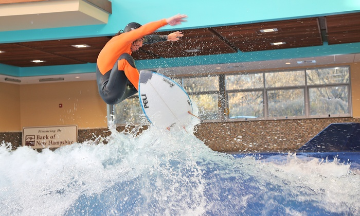 Surf's Up - Nashua: Indoor Surfing or Boogie Boarding for One or Two at Surf's Up (Up to33%Off)