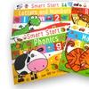 4-Pack of Smart Start Learning Fun Kids' Activity Books