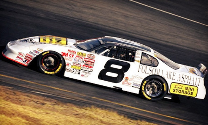 NASCAR WHELEN Race - Kaseberg - Kingswood: All American Speedway Outing for an Individual or Family on August 25 or September 8 (Up to 62% Off)