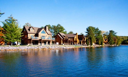 Stay with Daily Water Park Passes at Lake Delton Waterfront Villas in Lake Delton, WI. Dates into December.