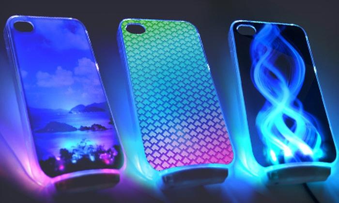 Case Design nutshell phone cases : OMG LED Light-Up Cases for iPhone 4/4S: $15 for an OMG LED Light-Up ...