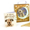 """""""A Little Goodnight Book"""" and Sleepy Puppy Blanket"""