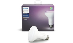 Philips Hue White/Color Ambiance 3rd Gen BR30 LED Bulb (1- or 2-Pack)