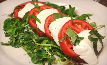 Italian and Mediterranean Dinner for Two or Four at Lantana Caf� (Half Off)