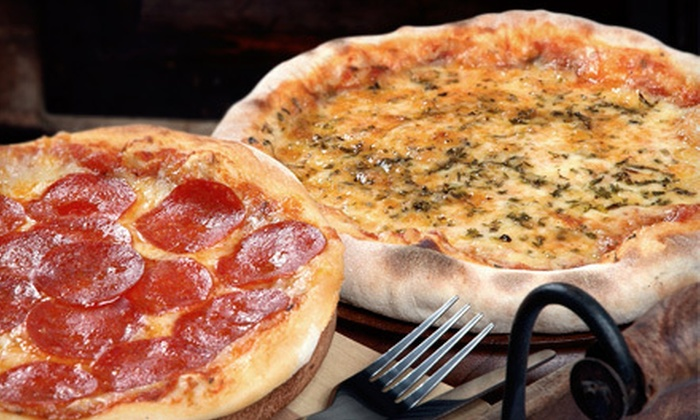 "Daddy Dukes - Central Goodyear: Two 18"" Pizzas or $10 for $20 Worth Pizza, Pasta, and Sandwiches at Daddy Dukes"