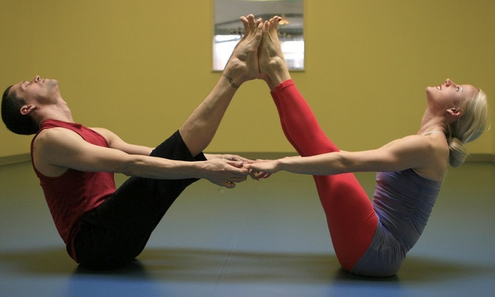 Spira Power Yoga - North Admiral: 10 Classes or One Month of Unlimited Classes at Spira Power Yoga (Up to 69% Off)