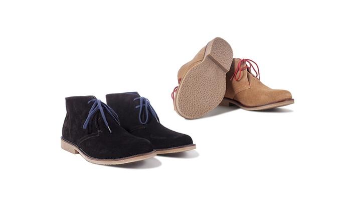 acce052bb5c9 Men s Suede Desert Chukka Boots