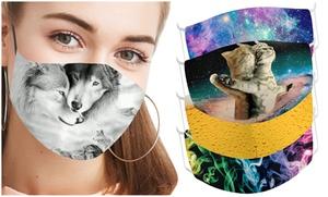 Masques coton imprimé