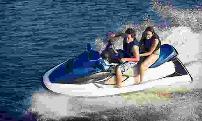 Rockaway Jet Ski - Rockaway Beach, NYC: Half-Hour Jet-Ski Rental or Four-Hour Jet-Ski Tour of New York City Harbor for Two from Rockaway Jet Ski (Up to 53% Off)