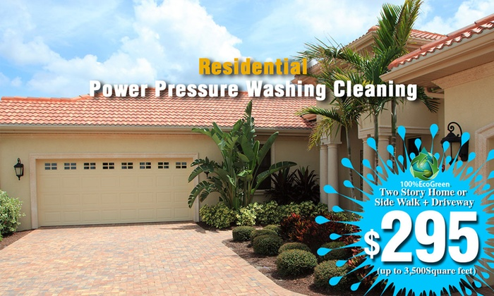 Power Pressure Washing Company LLC - Fort Lauderdale: Up to 66% Off Power Washing at Power Pressure Washing Company LLC