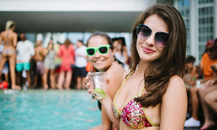 FIFTY Ultra Lounge at Viceroy Miami  - Fifty Ultra Lounge: Rooftop Pool Party at FIFTY Ultra Lounge at Viceroy Miami on March 21, 26, or 28 at Noon (Up to 54% Off)