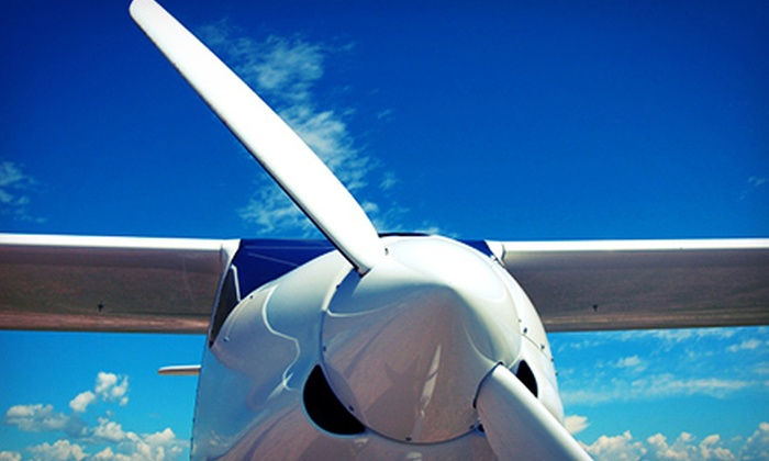 Brett Aviation - Martin State Airport: Discovery Flight with Logbook and Map or Sightseeing Photo Flight at Brett Aviation (Up to 51% Off)