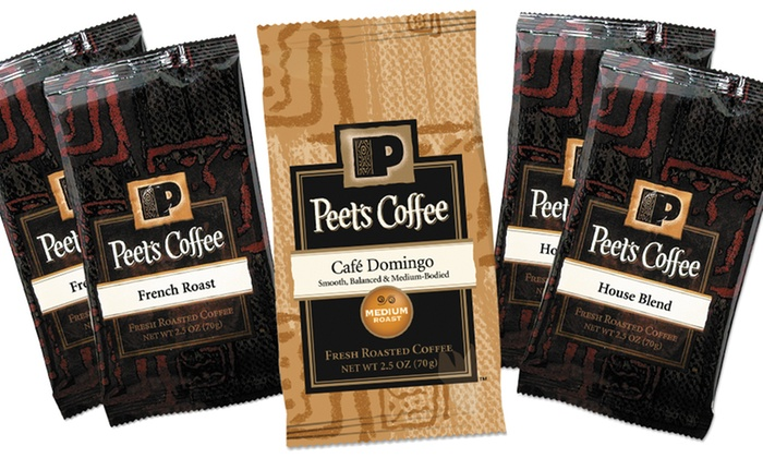 Peet's Coffee Individual-Size Portions: 18-Pack of Peet's Coffee & Tea Individual-Size Portions. Multiple Flavors Available.