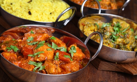 $11 for $20 Worth of Indian Food at Gandhi Restaurant (Up to 50% Off)