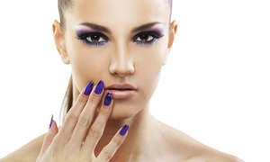 Tranquility Nails & Beauty: Makeover Package with Makeup and Gel Nails at Tranquility Nails & Beauty