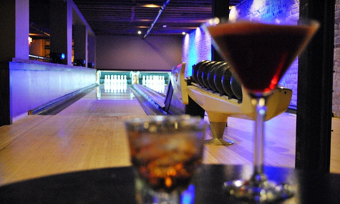Speakeasy - Downtown: $15 for One Hour of Bowling at Speakeasy ($30 Value)