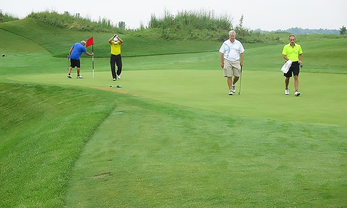Prairie Landing Golf Club - West Chicago: $25 for $40 Worth of Pub Food and Drinks at McChesney's Pub & Grill at Prairie Landing Golf Club