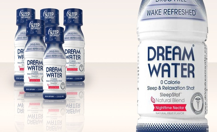 Dream Water Night Time Nectar Shots: 24-Pack of Dream Water Night Time Nectar Shots