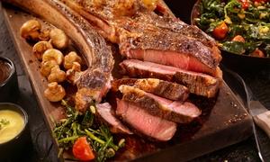IL GHIOTTONE (VEDANO AL LAMBRO): Menu con 900 gr di tagliata a scelta, dolce e bottiglia di vino per 2 o 4 persone da Il Ghiottone (sconto fino a 68%)