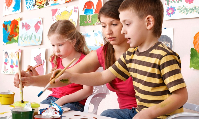 ArtCastle - Hurst: Admission to Kids' Night Out or a Saturday Art Workshop for Two Kids at ArtCastle (46% Off)
