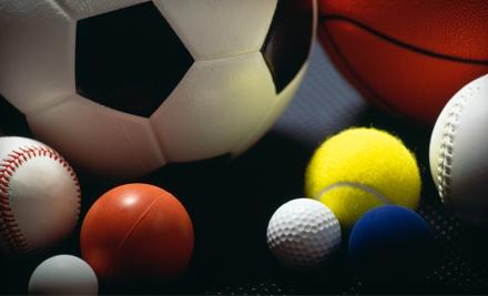 $50 Worth of Sporting Goods - Sports World USA in Eden Prairie