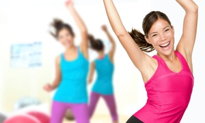 Fit For The Journey: 10 or 20 Zumba or Step Aerobics Classes at Fit For The Journey (Up to 54% Off)