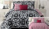 5-Piece Reversible Comforter Sets