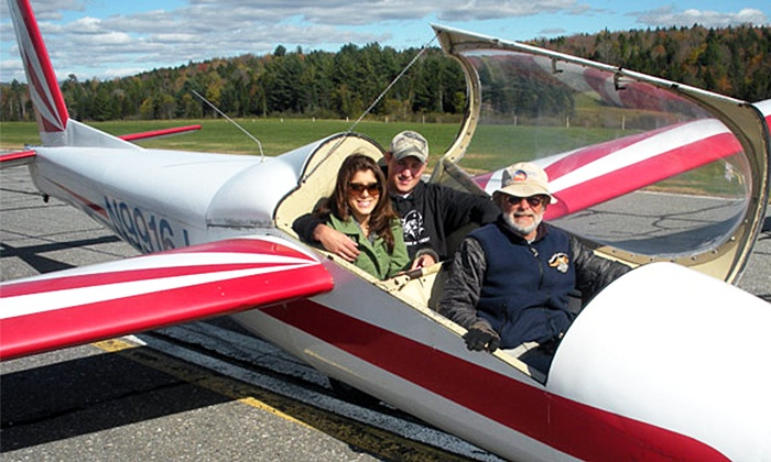 "Stowe Soaring - Morrisville: $49 for ""Taste of the Sky"" Glider Ride at Stowe Soaring ($99 Off)"