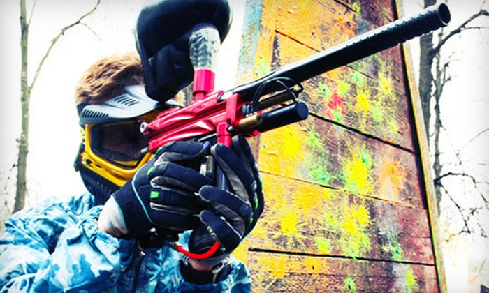 Action Sports Park - Van Buren: Three-Hour Paintball Package for One or Two with Equipment and Paintballs at Action Sports Park (Up to Half Off)