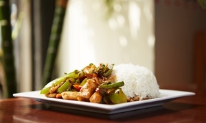 Tasty Thai Restaurant: Thai Food at Tasty Thai Restaurant (Up to 40% Off). Two Options Available.