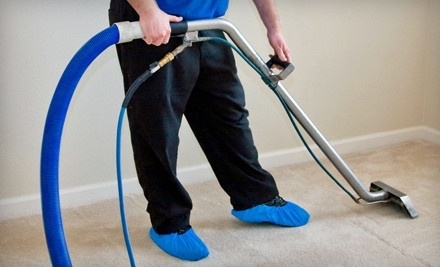Carpet or Sofa Steam Cleaning from Thoroclean (Up to 60% Off). Four Options Available.