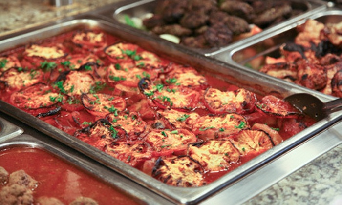 Dimassi's - Northwest Austin: Buffet Meal for Two or Four at Dimassi's Mediterranean Buffet (Half Off)