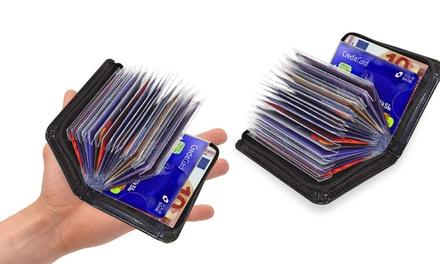 1 à 4 porte-cartes multicompartiments