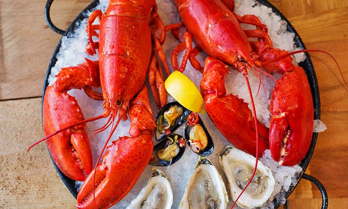 Pelican Fishery & Grill - Heron Park: $12 for $25 Worth of Dinner or C$12.75 for C$20 Worth of Seafood from the Store at Pelican Fishery & Grill
