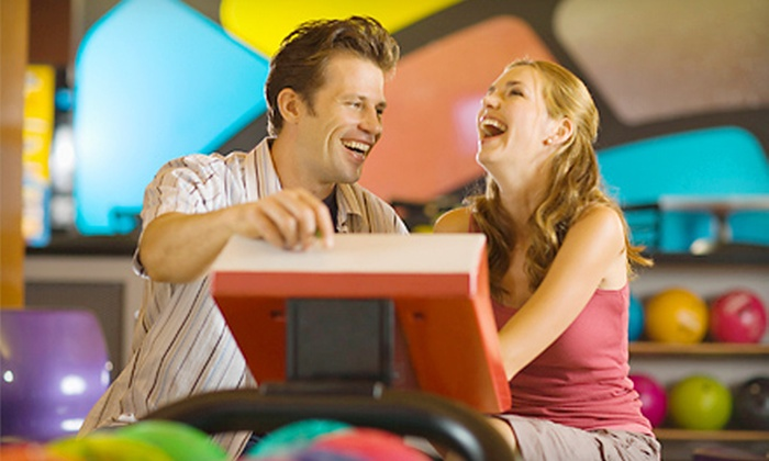 Playdrome Rose Bowl - Allentown: Bowling Outing for Two or Up to Six with Shoe Rental at Playdrome Rose Bowl (Up to 72% Off)