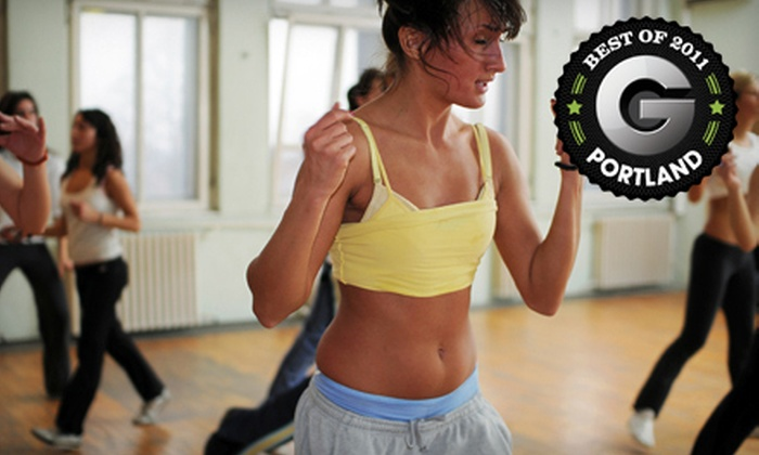 Uptown Ballroom - Multiple Locations: $24 for 20 Zumba Classes at Uptown Ballroom ($160 Value)