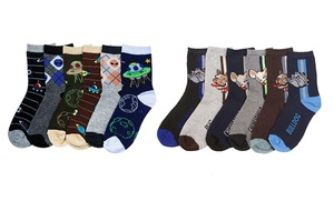 6-Pack of Boys' Socks