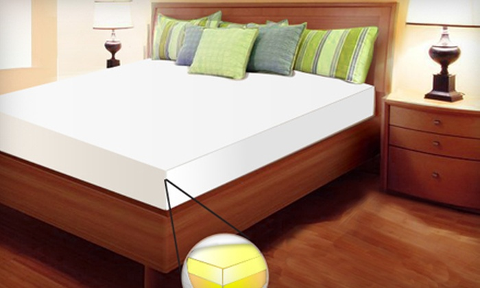 Up To 77 Off Luxury Memory Foam Mattress Groupon