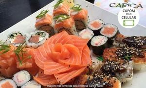 Carica Sushi: Carica Sushi – Jardim Botânico: buffet de sushi para 1, 2 ou 4 pessoas