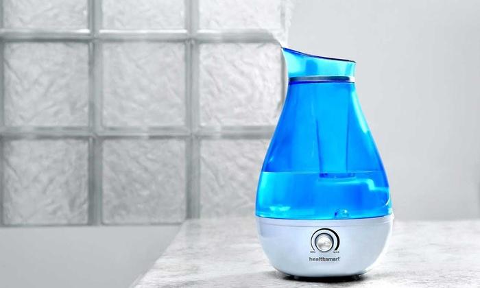 HealthSmart Mist XP Ultrasonic Cool Mist Humidifier